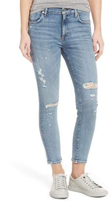 A Gold E AGOLDE Sophie Distressed High Waist Skinny Jeans (Outsider)