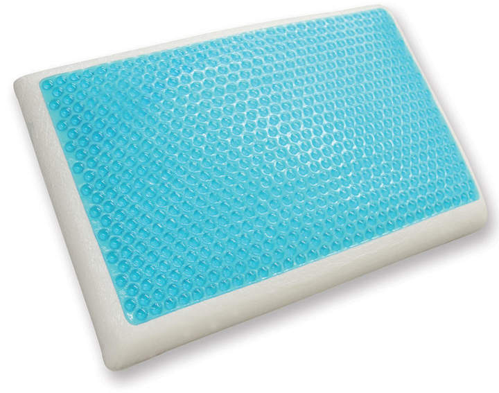 CLASSIC BRANDS Cool Gel Reversible Gel and Memory Foam Pillow