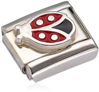 Nomination Composable Women's Charm Stainless Steel Enamel Ladybird 330202 / 15