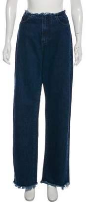 Marques Almeida Marques' Almeida High-Rise Wide-Leg Jeans