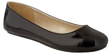 Women's Mossimo Supply Co. Odell Ballet Flats - Black Patent