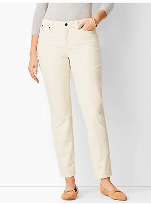 Talbots Slim Ankle Pants - Curvy Fit/Cord