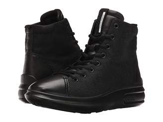 Ecco Soft 3 High Top Women's Lace-up Boots