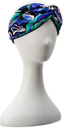 Emilio Pucci Silk Headwrap