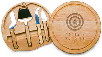 Picnic Time Marvel's Captain America Circo Cheese Cutting Board & Tools Set