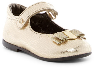 Naturino Rettile Reptile Embossed Mary Jane Flat (Toddler) $69.95 thestylecure.com