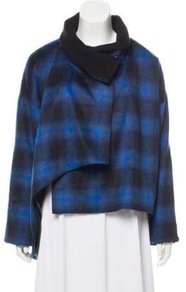 Thakoon Asymmetrical Short Coat