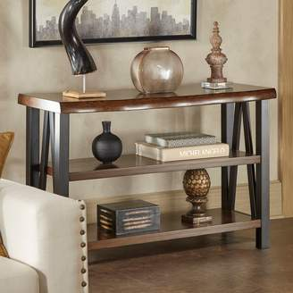 Homevance HomeVance Ackerly Mixed Media Rustic Console Table