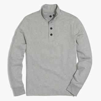 J.Crew Fleece mockneck pullover