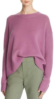 Vince Cashmere Boxy Crewneck Sweater $345 thestylecure.com