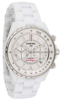 Chanel J12 Superleggera Chronograph Watch