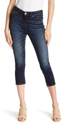 True Religion High Waist Denim Capris
