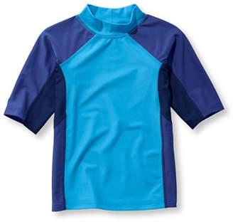 L.L. Bean (エルエルビーン) - ボーイズ・サン・アンド・サーフ・シャツ、半袖 カラーブロック