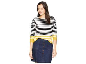 Joules Rima Button Back Jersey Top