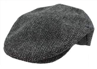 97159bc7905 Co Irish Tweed Flat Cap Herringbone Irish Made John Hanly