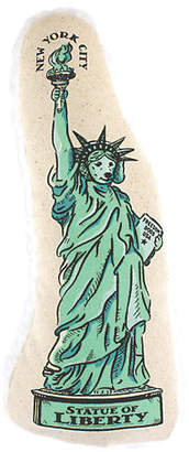 One Kings Lane Statue of Liberty Dog Toy - Green