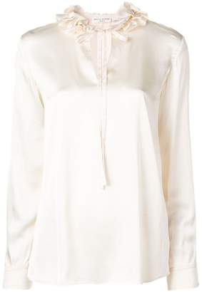 Sonia Rykiel ruffled neck blouse