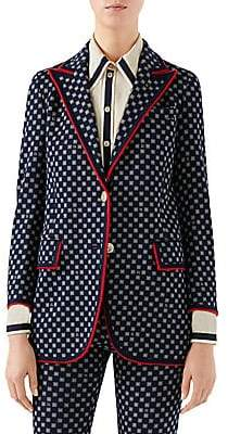 Gucci Women's G Frame Blazer Jacket