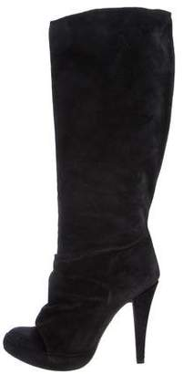 Pedro Garcia Xaide Suede Knee-High Boots