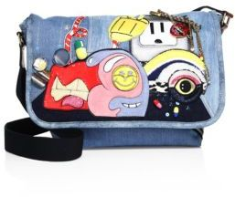 Marc Jacobs Marc Jacobs Julie Denim Messenger Bag