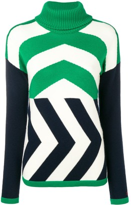 Perfect Moment Chevron jumper