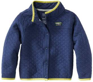 L.L. Bean L.L.Bean Infants' and Toddlers' Quilted Snap Sweatshirt