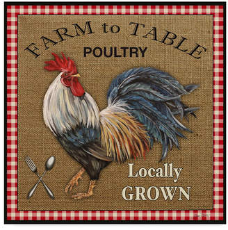 """Jean Plout 'Farm To Table 1' Canvas Art - 24"""" x 24"""""""