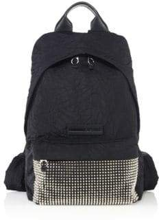 Alexander McQueen Studded Jacquard Backpack