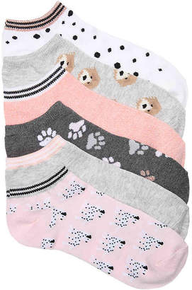 Mix No. 6 Pup Love No Show Socks - 6 Pack - Women's