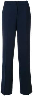 Kiltie wide-leg trousers