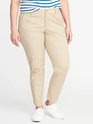 Old Navy Secret-Slim Pockets Plus-Size Everyday Skinny Khakis