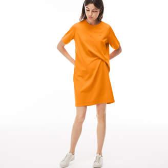Lacoste (ラコステ) - コットンジャージー アシンメトリカル ドレス