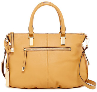 Vince Camuto Rina Leather Satchel $248 thestylecure.com