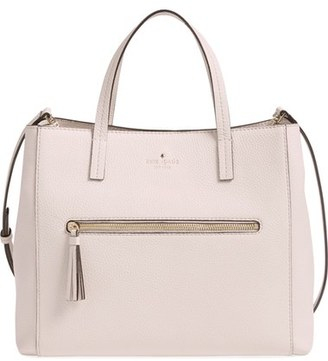 kate spade new york 'spencer court - tera' leather satchel (Nordstrom Exclusive) $398 thestylecure.com