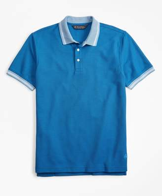 Brooks Brothers Original Fit Tipped Collar Polo Shirt