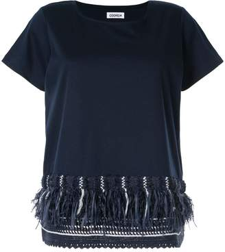 Coohem sailor fringe T-shirt