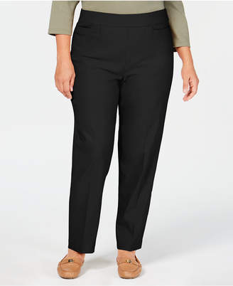 Alfred Dunner Plus Size Allure Tummy Control Pull-On Pants