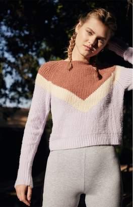 LA Hearts Nancy Girl Chevron Sweater