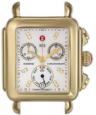 Michele Women's MW06P00A9046 Deco Analog Display Swiss Quartz Watch Head