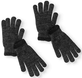 Faded Glory Cozy Lined Metallic Gloves, 2 pack
