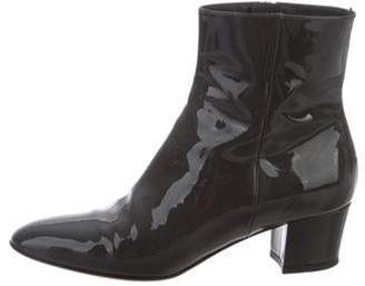 Gianvito Rossi Round-Toe Ankle Boots Round-Toe Ankle Boots