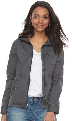 Sonoma Goods For Life Petite SONOMA Goods for Life Twill Utility Jacket