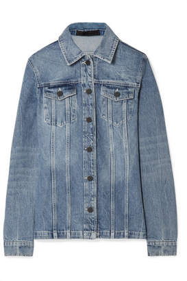 Alexander Wang Paneled Denim Jacket - Light denim
