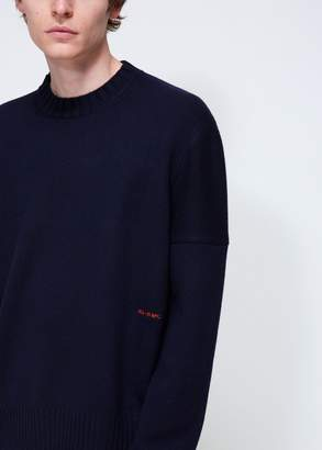 Calvin Klein Mid Weight Core Cashmere Crew Neck Knit