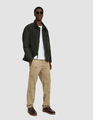 Polo Ralph Lauren Oilcloth Zip Up Jacket