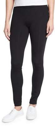 The Row Scuba Jersey Leggings, Black