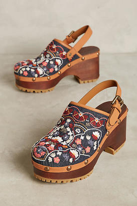 See By Chloe Embroidered Floral Wedges $388 thestylecure.com