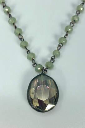 Melania Clara Camellia Short Necklace