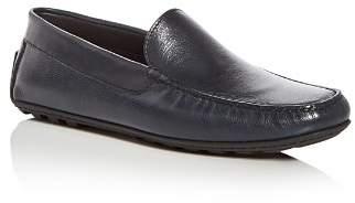 a. testoni A.Testoni Men's Leather Moc Toe Drivers