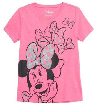 Minnie Mouse Minnie Glitter Graphic T-Shirt (Little Girls & Big Girls)